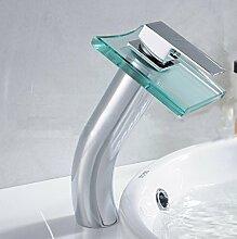 XX&GXM 2017 Neu Home deco Creative Glass moderne Badezimmer Waschbecken Wasserhahn aus massivem Messing.(Home Küchen, Geschenke zum Geburtstag, Valentinstag Geschenke)