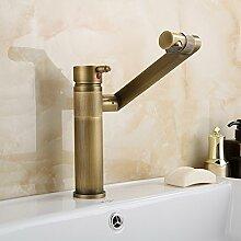 XX&GXM 2017 Neu Home Deco können Sie mit dem warmen und kalten Wasserhahn Kupfer Einloch Badezimmer Waschbecken Wasserhahn(Home Küchen, Geschenke zum Geburtstag, Valentinstag Geschenke)