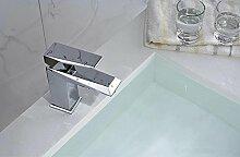 XX&GXM 2017 Neu Home Deco Modern minimalistisch Kupfer Bad Waschbecken Wasserhahn warmes und kaltes Wasser(Home Küchen, Geschenke zum Geburtstag, Valentinstag Geschenke)