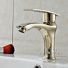 XX&GXM 2017 Neu Home deco-Stil in Europa golden Rereo Kupfer heißen und kalten Wasserhahn WC-Armatur(Home Küchen, Geschenke zum Geburtstag, Valentinstag Geschenke)