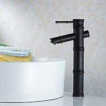 XX&GXM 2017 Neu Home deco-Stil in Europa Rereo schwarz bronze Bambus Wasserfall Waschbecken Wasserhahn(Home Küchen, Geschenke zum Geburtstag, Valentinstag Geschenke)