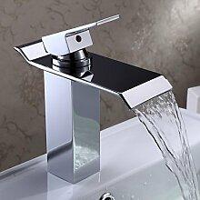XX&GXM Badezimmer Waschbecken Armaturen Hebelmischer, ein