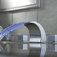 XX&GXM Moderne Chrom Waschbecken Wasserhahn, c