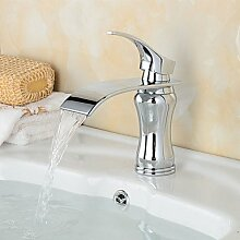 XX&GXM Moderne Chrom Waschbecken Wasserhahn, ich