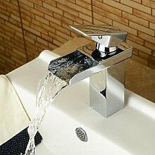 XX&GXM Moderne Chrom Waschbecken Wasserhahn, n