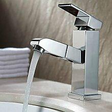 XX&GXM Moderne Chrom Waschbecken Wasserhahn, u
