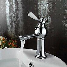 XX&GXM Moderne Chrom Waschbecken Wasserhahn, w
