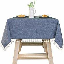 XXBFDT Tischtuch Tischwäsche Pflegeleicht