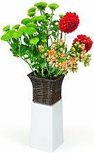 XXD Emily Weidenheim - Porzellan Blumen Vase mit