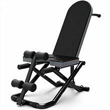 XXD Indoor Fitnessgeräte Sit Up Bank Klappbare