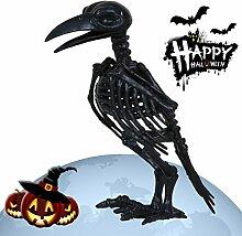 XXHDYR Halloween Dekoration Simulation Krähe
