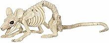 XXHDYR Halloween Dekoration Spukhaus Maus Skelett