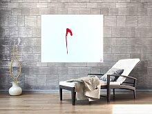 XXL Acryl Gemälde in 100x130cm abstrakte Kunst im