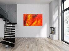 XXL Acryl Gemälde in 100x150cm abstrakte Kunst im