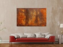 XXL Acryl Gemälde in 100x160cm abstrakte Kunst im