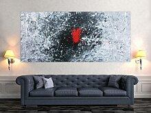 XXL Acryl Gemälde in 100x220cm abstrakte Kunst im