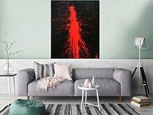 XXL Acryl Gemälde in 120x100cm abstrakte Kunst im