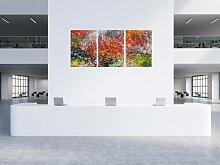 XXL Acryl Gemälde in 120x240cm abstrakte Kunst im