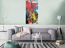 XXL Acryl Gemälde in 120x60cm abstrakte Kunst im