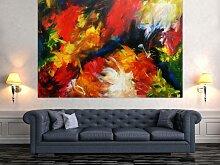 XXL Acryl Gemälde in 150x200cm abstrakte Kunst im