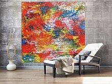 XXL Acryl Gemälde in 180x180cm abstrakte Kunst im
