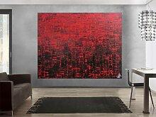 XXL Acryl Gemälde in 180x230cm abstrakte Kunst im