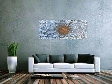 XXL Acryl Gemälde in 60x150cm abstrakte Kunst im