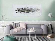 XXL Acryl Gemälde in 70x160cm abstrakte Kunst im
