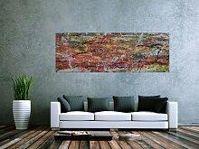 XXL Acryl Gemälde in 70x200cm abstrakte Kunst im