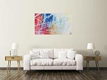 XXL Acryl Gemälde in 80x140cm abstrakte Kunst im