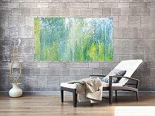 XXL Acryl Gemälde in 95x160cm abstrakte Kunst im