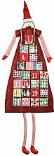 XXL Adventskalender zum Befüllen im Mädchen