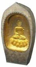 XXL Brunnen Golden Buddha, 100 cm Höhe