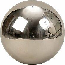 XXL Dekokugel Silberkugel ca. Ø 30 cm Silber