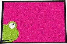 XXL Designer Fußmatte Frosch - Innenbereich -