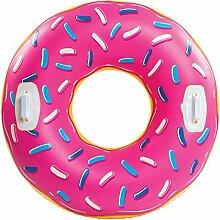XXL Donut Snow Tube - Donut Rutschreifen Schneereifen aufblasbar Schnee Reifen