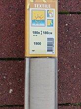 XXL Fenster Rollos 180x180cm aus Textil Beige Neu-OVP Premium Qualitä