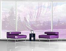 XXL Fensterbild No.RY7 Flügelschlag Dekoration Linien Muster Modern Abstrakt Größe: 380cm x 288cm