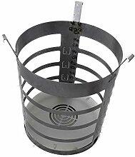 XXL Feuerkorb für Feuertonne Stahlfass Feuer Korb