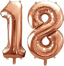 XXL Folien-Ballon/Zahl 18 in