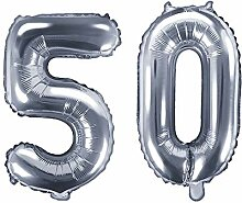 XXL Folien-Ballon/Zahl 50 in