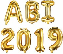 XXL Folien-Ballons ABI 2019 gold