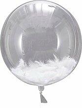 XXL Hochzeits-Ballons/Luft-Ballons transparent mit
