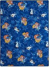 XXL Kinderteppich Disney Frozen Eiskönigin Teppich Kinder Spielteppich 150x200cm