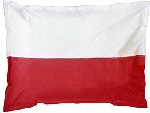 XXL Länderflaggen Riesensitzsack Polen 380l Füllung 140 x 180 cm Indoor Outdoor Original Lumaland