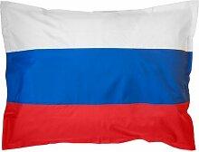 XXL Länderflaggen Riesensitzsack Russland 380l Füllung 140 x 180 cm Indoor Outdoor Original Lumaland