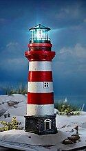 XXL LED Leuchtturm Garten Außenbeleuchtung