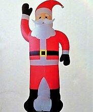 XXL LED Weihnachtsmann 350cm / 3,5m