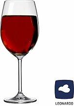 XXL LEONARDO Weinglas B-Ware 4er Set, Gläserset