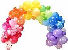 XXL Luft-Ballon-Girlande/Hochzeits-Ballons bunt -